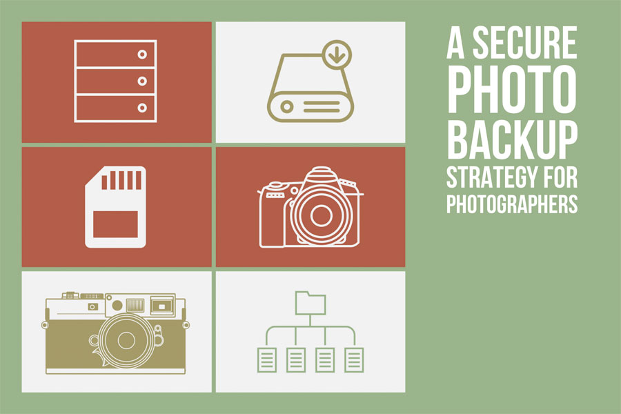 A Simple Photo Backup Strategy For Photographers