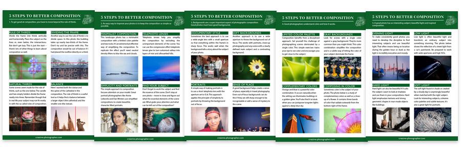 Better composition phototips cards