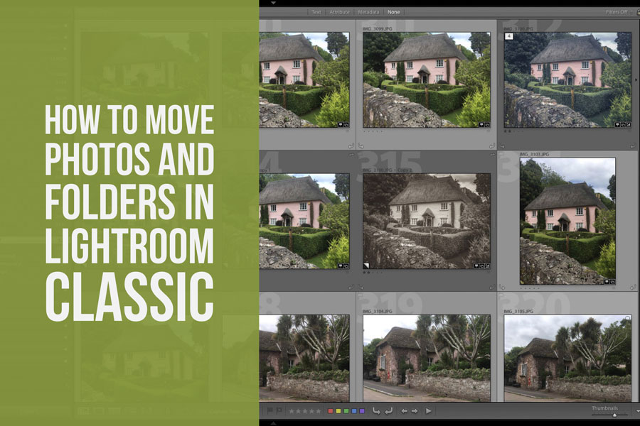 How to Move Photos And Folders in Lightroom Classic