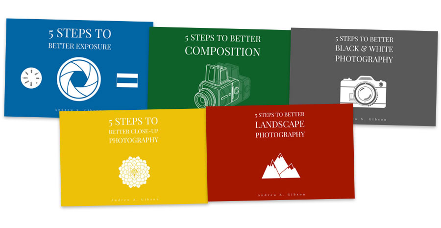 5 Steps to Better Photography ebook bundle