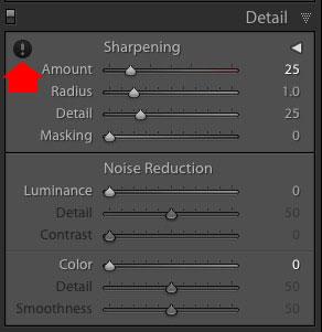 Noise reduction Lightroom Classic