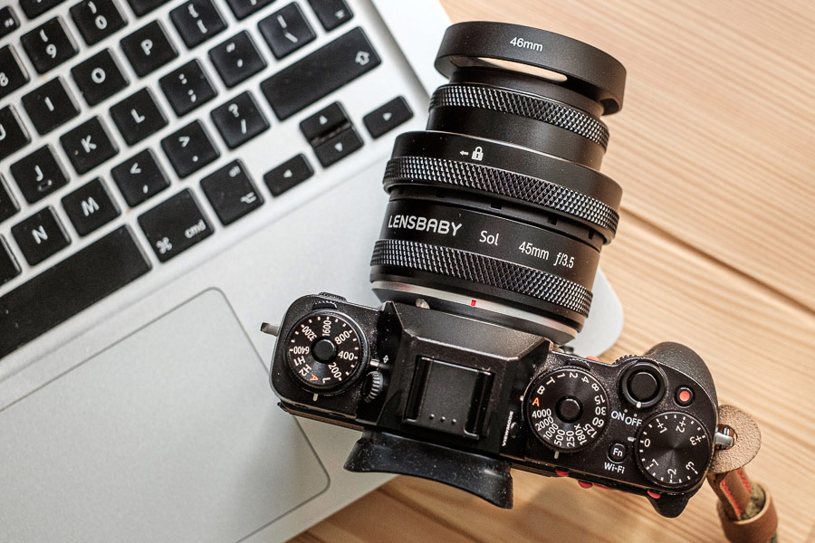 Lensbaby Sol 45 lens