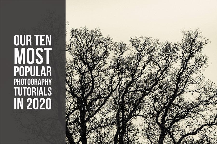 Popular photography tutorials 2020