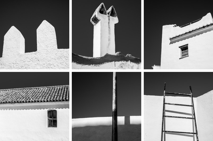 Black and white photos of Spain
