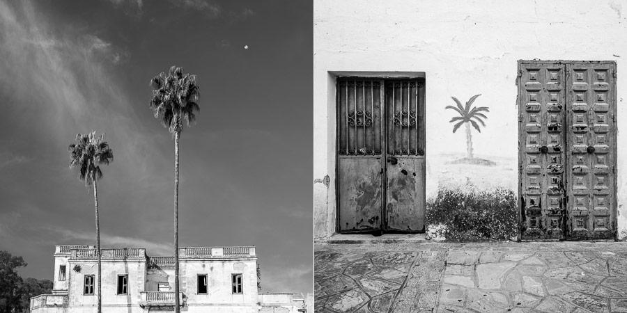 Black and white photos Spain