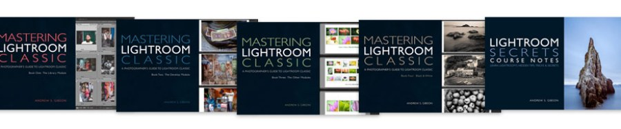 Mastering Lightroom Classic ebook bundle