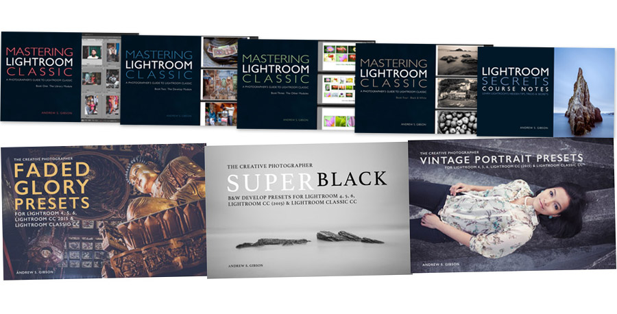 Lightroom Classic ebook and preset bundle