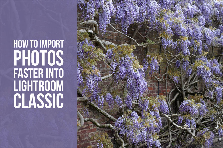 How to Import Photos Faster Into Lightroom Classic