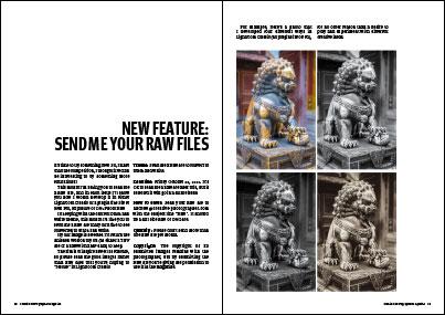 Creative Photographer Magazine feature