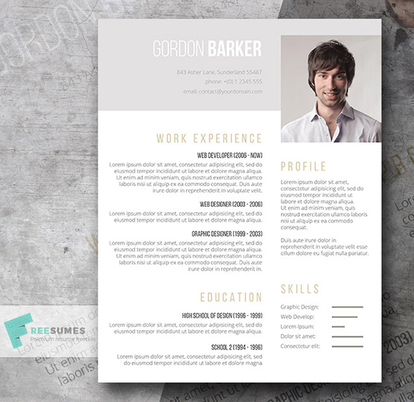 pay what you want for this word cv template creative resume