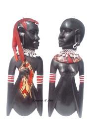 MaasaiCoupleWallPlaqueFront1