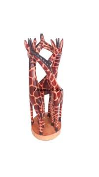 GiraffeHuggingThree