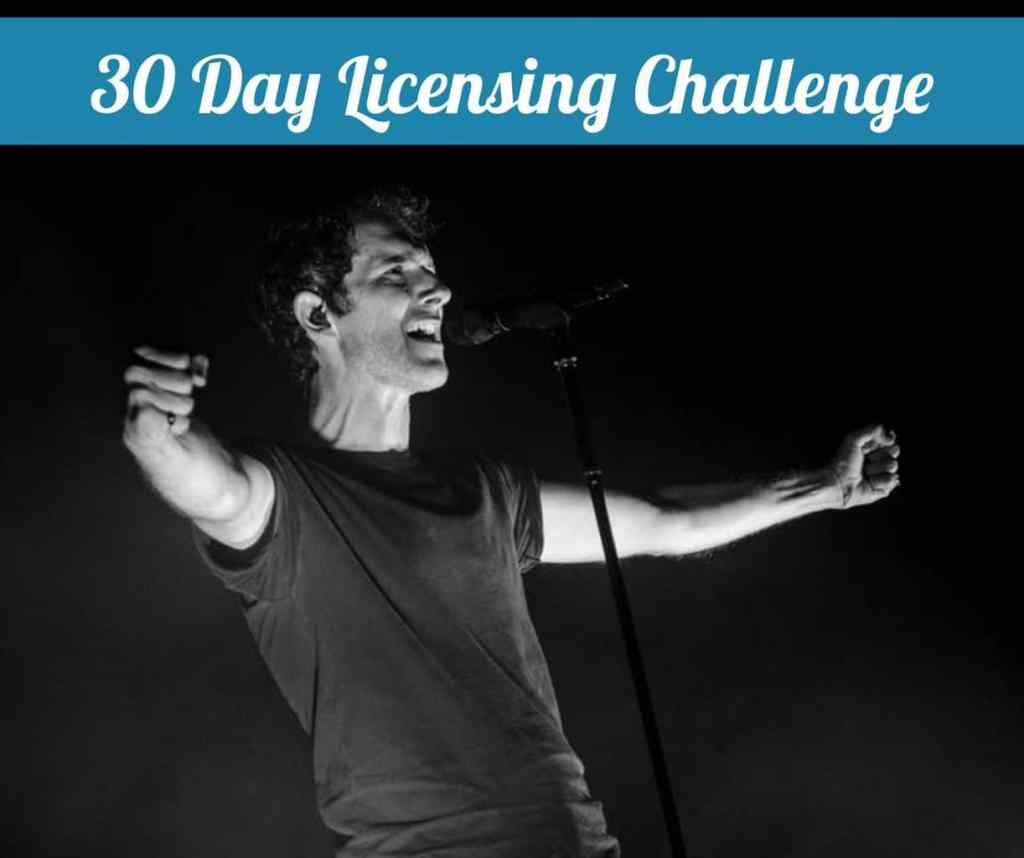 30 Day Licensing Challenge