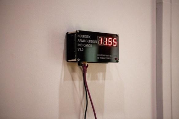 Neurotic Armageddon Indicator (NAI) - Proximity to armageddon