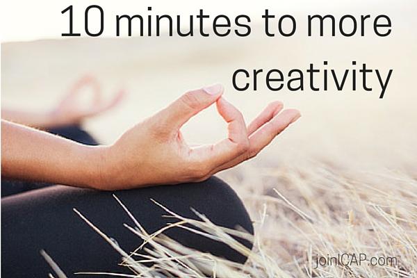 ICAP creativity + meditation