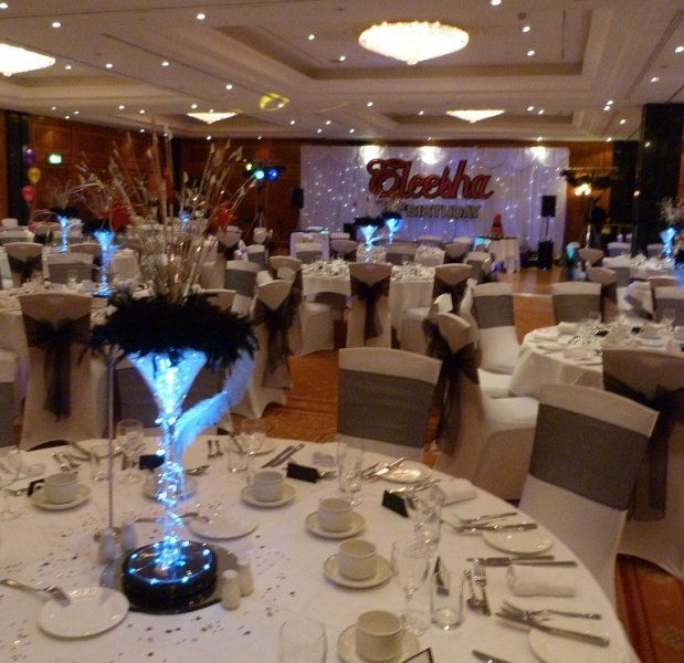 Martini Vase Centrepieces Creative Balloon Company