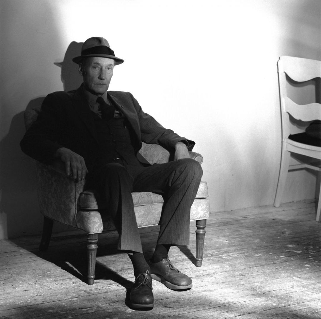 William Burroughs 1985 © Jeannette Montgomery Barron