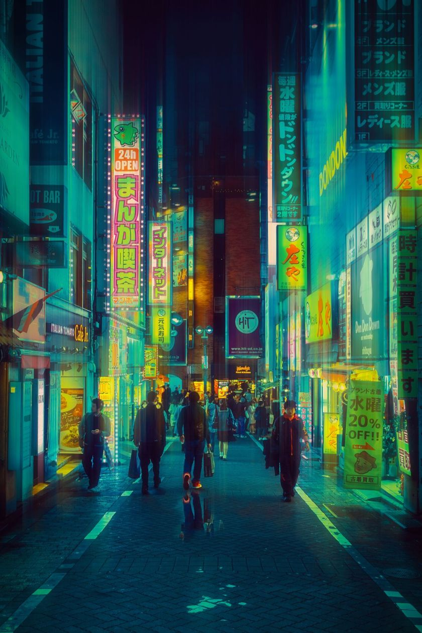 Davide Sasso's picture of tokyo in the rsain