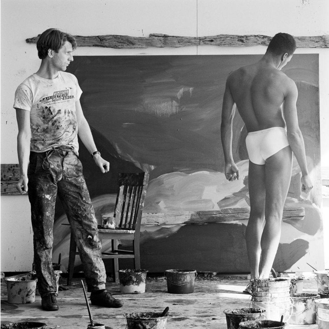 Rainer Fetting, N.Y.C., 1984 © Jeannette Montgomery Barron