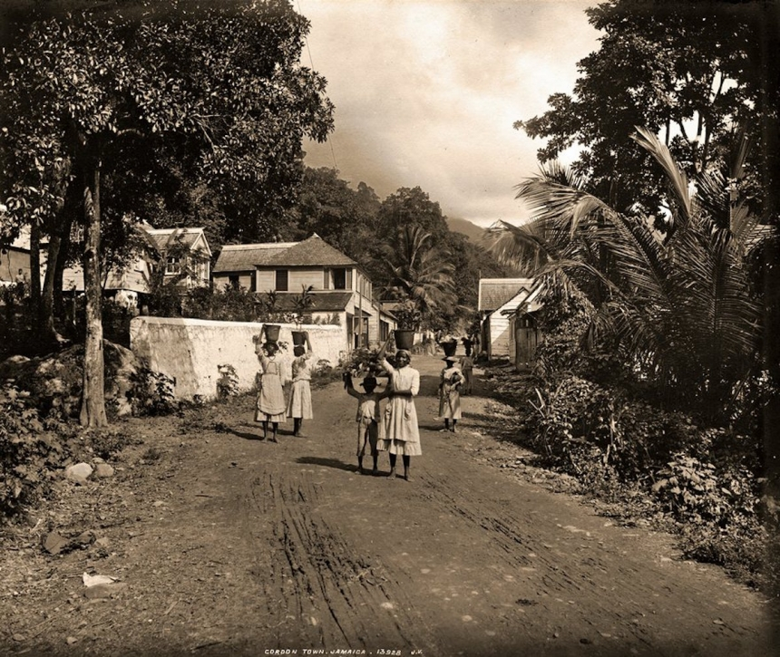 Gordon Town, Jamaica. James Valentine & Sons, 1891. Courtesy Caribbean Photo Archive / Autograph ABP