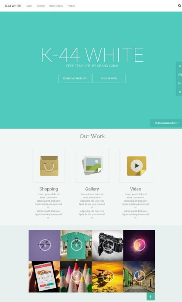 K-44-white - Best Blogger Templates in the market