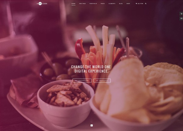 H-Code Creative Portfolio Website Template