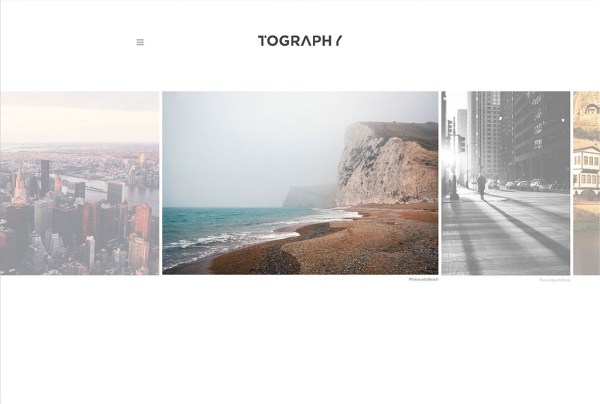 Tography minimal Photography WordPress Theme