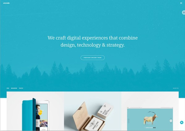 Uncode Theme - Multipropose Fullscreen Website Theme