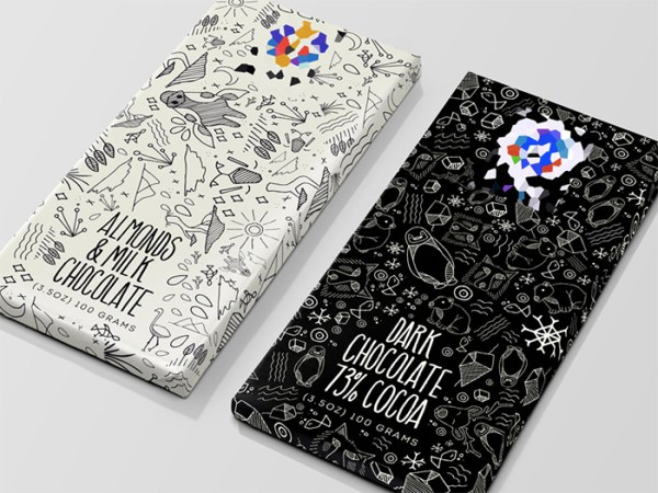 Chocolate Patterned Packaging