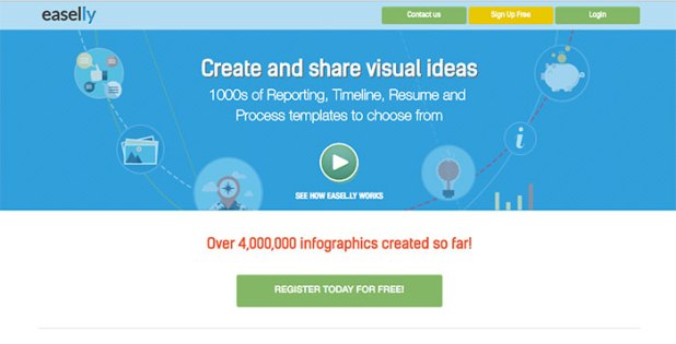 Easel.ly Infographic Creator