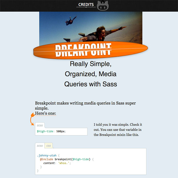 Breakpoint Sass