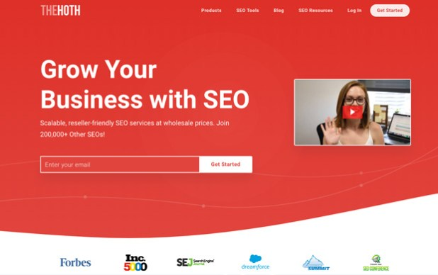 TheHoth - Keywords Research Tools and managed SEO