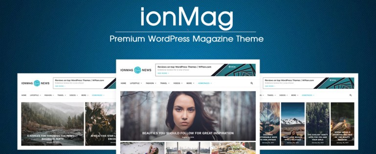 ionMag free word press theme
