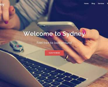 Sydney One Page Wordpress Themes - 2019