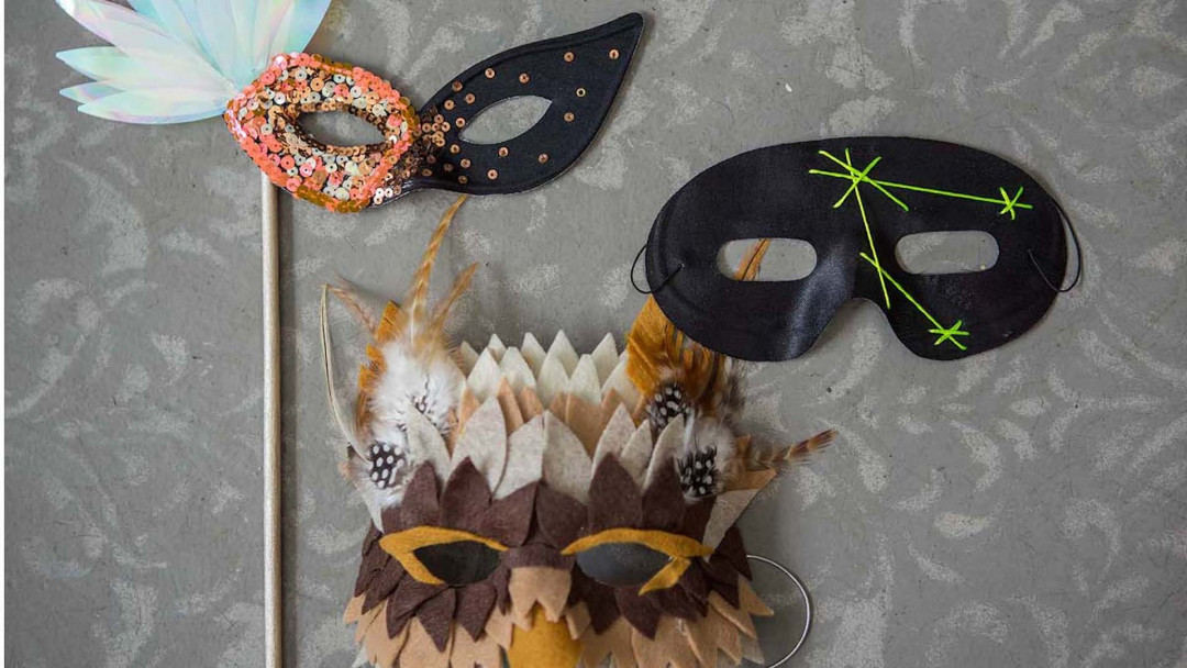 DIY Halloween Masks by Courtney Cerruti
