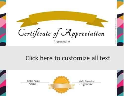 Printable Certificates Templates Free. Free Printable Certificates
