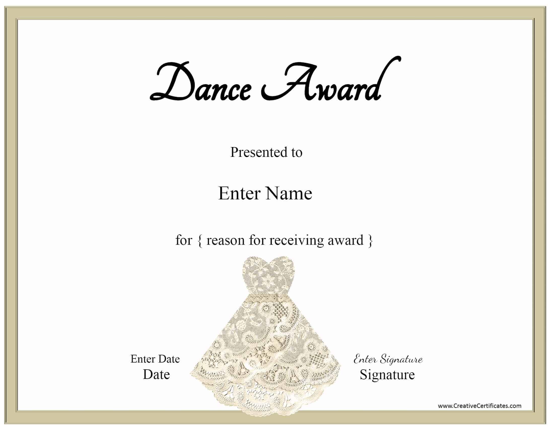 Cheerleading Award Templates Award Certificate Templates