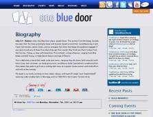 One Blue Door