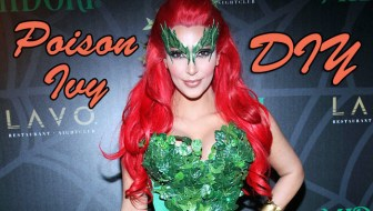 DIY Homemade Poison Ivy Costume