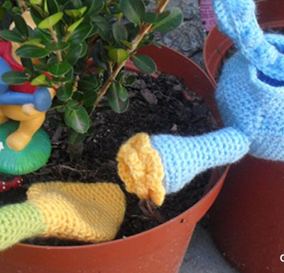 Flower Pot Play Set | Creative Crochet Workshop @creativecrochetworkshop
