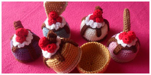 MINI CAKE GIFT BOX VARIATIONS|CREATIVE CROCHET WORKSHOP