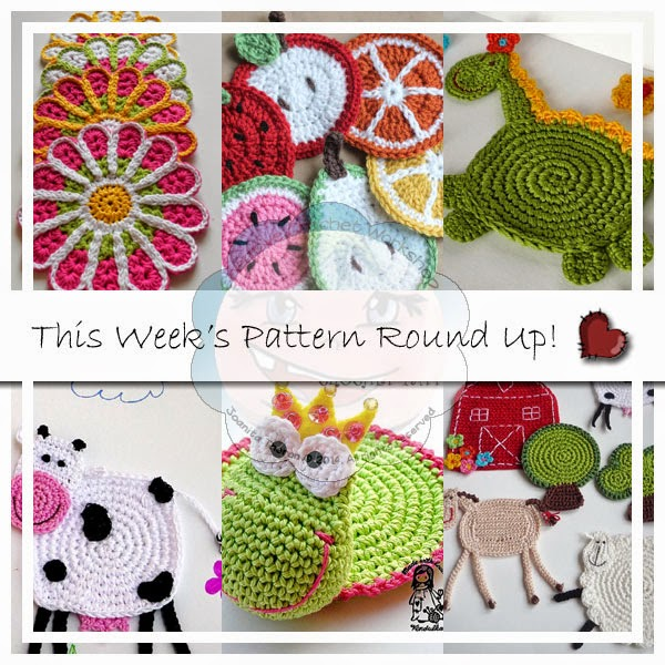 PATTERN ROUND UP CROCHET COASTERS|CREATIVE CROCHET WORKSHOP