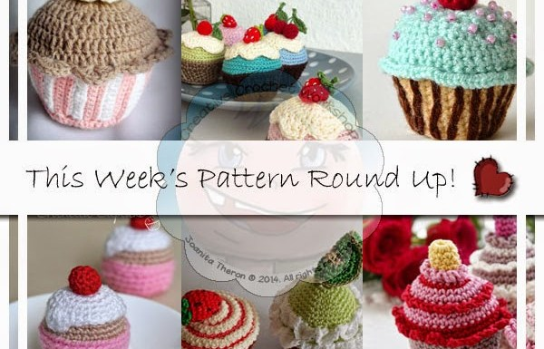 PATTERN ROUND UP CROCHET CUPCAKES|CREATIVE CROCHET WORKSHOP