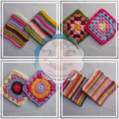 Scrapalicious Bag Granny Squares|Creative Crochet Workshop