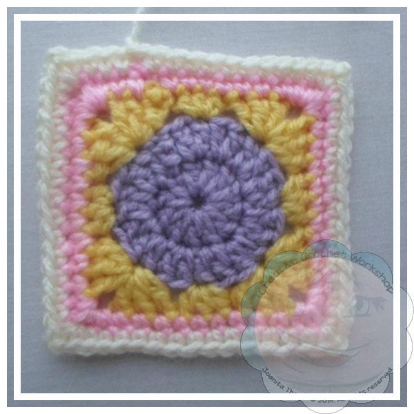 Scrapalicious Blanket Part Two - A Free Crochet Along | Creative Crochet Workshop #ccwscrapaliciousbag #crochetalong #scrapsofyarn