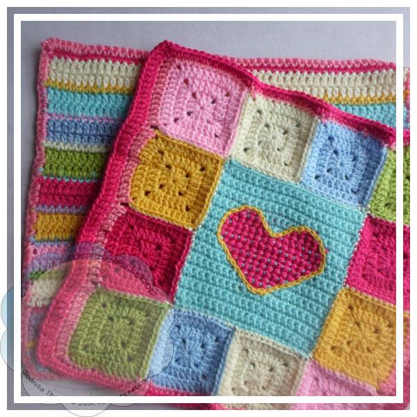 Scrapalicious Cushion Part Three - A Free Crochet Along | Creative Crochet Workshop #ccwscrapaliciouscushion #crochetalong #scrapsofyarn