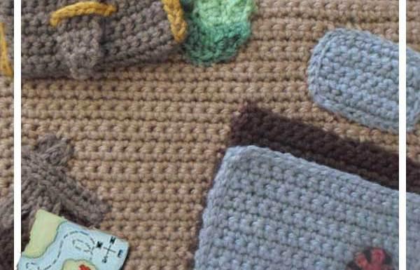 Crochet Pirate Playbook Pirate Secret Hideaway|Creative Crochet Workshop