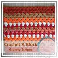 Granny Stripes granny/afghan square