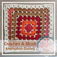 Alternative Granny granny/afghan square