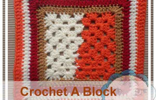 Granny Halves In A Square|Creative Crochet Workshop